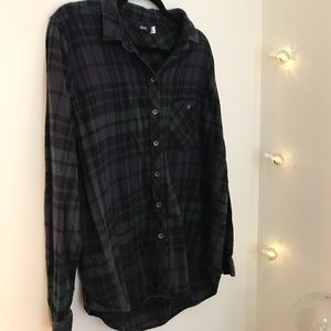 Urban Outfitters Tops - 💚💜 Purple/Green Flannel 💜💚